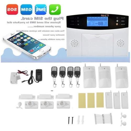 Wireless SMS System Burglar EK