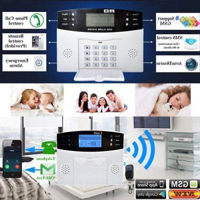 Wireless Wired LCD SMS Home House System EK