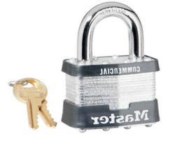 """Master Lock #5KA-A297 2"""" Laminated Padlock Gray 6"""