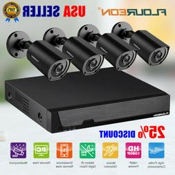 8CH DVR Home Security Camera System 3000TVL 1080P CCTV Invis