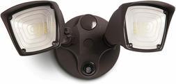 Home Zone Security LED Flood Light, Outdoor Weatherproof Har