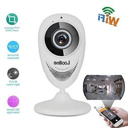Looline 180° Panoramic IP Camera Wide Angle View Fisheye Se