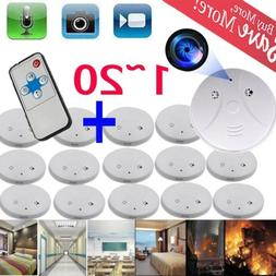 LOT 1~20 Home Security Smoke Detector Fire Alarm Sensor Syst