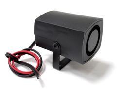 Loud One Tone 105dB 12V Small Mini Siren Alarm Security Home