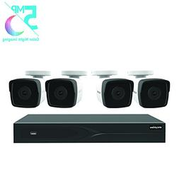 LaView 8 Channel 5MP Business and Home Security Cameras Syst