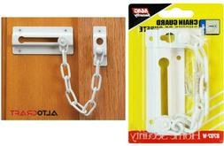 MAG Security Chain Guard Door Lock White Door Home Security