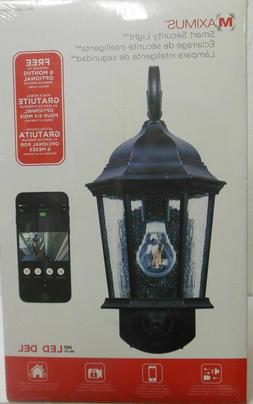 Maximus Smart Home Security Outdoor Lantern Coach Camera SPL
