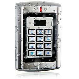 UHPPOTE Metal Waterproof Access Control Keypad RFID Reader w
