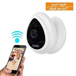 Mini IP Camera, UOKOO Home WiFi Wireless Security Surveillan
