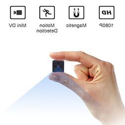 Mini Spy Camera, ZZCP 1080P Portable Small HD Covert Nanny C