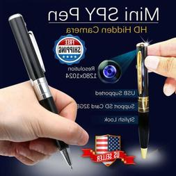 Mini Spy Camera Pen USB Hidden DVR Camcorder Video Audio Rec