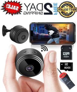 Mini Spy Camera Wireless Hidden Home WiFi Security Cameras w