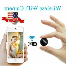 Mini Spy Camera Wireless Wifi IP Home Security 1080P DVR Nig