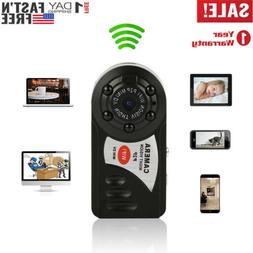 Mini WIFI Spy Hidden Camera Home Security Night Vision Video