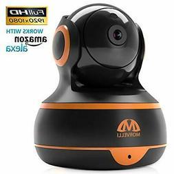 MORVELLI WiFi Home Security Camera Pan/Tilt/Zoom Wireless IP
