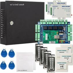 Network RFID Access Control Panel Kit System W/ Power Supply