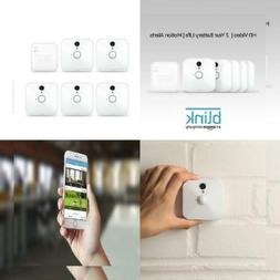 NEW Blink Indoor Home Security 5 Camera System + Motion Dete