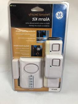 NEW GE Personal Security Alarm Kit Window/Door Alarms Home S