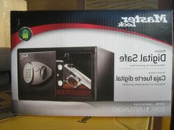 NEW Master Lock X055ML SECURITY SAFE w/ Digital Electronic /