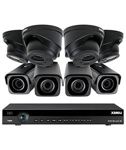 Lorex 8 channel NR9082 4K home security system with 4 8MP 4K