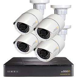 Q-see 4 Channel NVR with 2TB HDD and  3MP Cameras