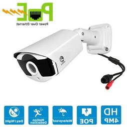 JOOAN ONVIF 4MP Security IP Camera Home POE Surveillance Wat