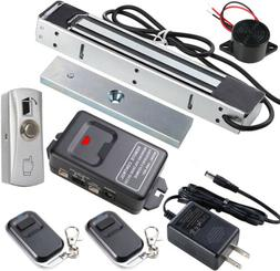 Outdoor 350lb Electric Magnetic Lock with Wireless Remote Co