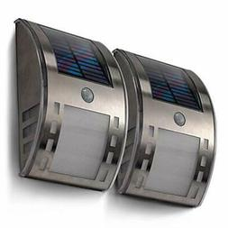Home Zone Security Outdoor Wall & Porch Lights, Solar Powere