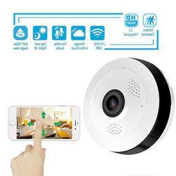 360 Degree Panoramic Smart IP Camera IPC Wireless P2P 960P S