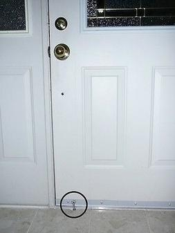 PegLok Home Security Door Blocking Lock - Stop forced entry