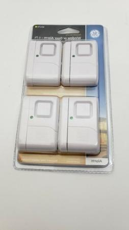 GE Personal Security Window/Door Alarm 4-Pack DIY Home Prote