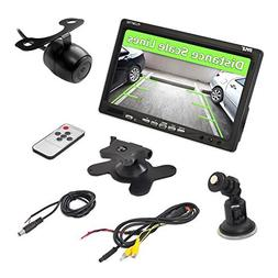 Pyle Backup Rear View Car Camera Screen Monitor System - Par