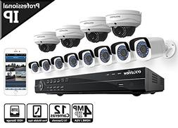 LaView HD 16 Channel  Business & Home NVR Security System  W