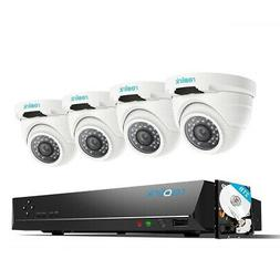 Reolink 4MP 8CH PoE Video Surveillance System, 4 x Wired Out