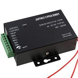 UHPPOTE 110-240VAC to 12VDC Power Supply Controller Built-in