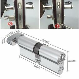 Practical Silver Tone Cylinder Hardware Indoor Aluminum Home