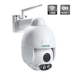 SV3C 1080P Outdoor PTZ WiFi Security Camera,Pan Tilt Zoom  W