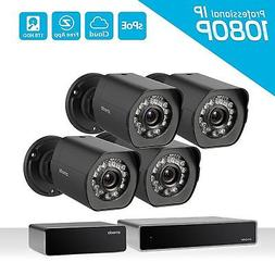 1080p Remote Home Monitoring Systems Full HD Outdoor Securit