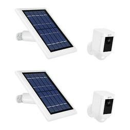 Ring Spotlight Cam Battery w/ Solar Power Panel  Durable Out