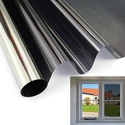 Room Blackout Reflective Window Film Mirror Treatment: 100%
