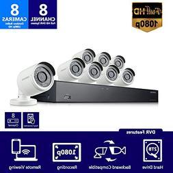Samsung  SDH-B74081 - 8 Channel 1080p HD 2TB Security Camera