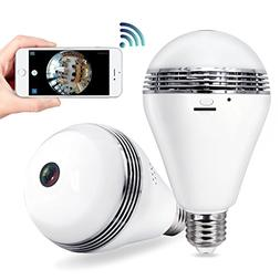 Security Camera Bulb Wifi System - TecBillion , Home Securit
