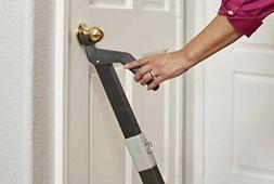 Security Door Bar by SecuraDoor | Fully Adjustable, Super St