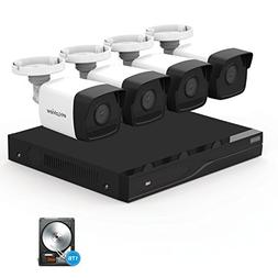 5MP Security Camera System HD-TVI, Laview 8 Channel Video DV