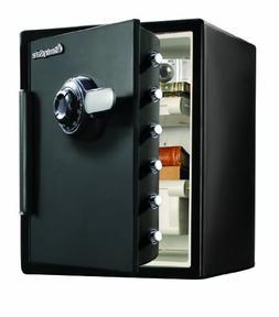 SentrySafe SFW205CWB Water-Resistant Combination Safe, 2X-La