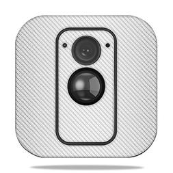 MightySkins Skin for Blink XT Outdoor Camera - White Carbon