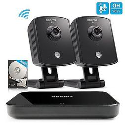 Zmodo Smart PoE 720P HD Security Camera System 4 x 720P Outd