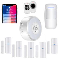 Smart Security System DIY No Monthly Wifi Alarm Kit  APP Pus