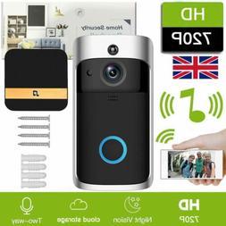 Smart Wireless WiFi Doorbell Video Camera Phone Bell Interco