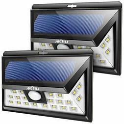LED Solar Lights Outdoor Motion Sensor Power 3 Both Side-2 P